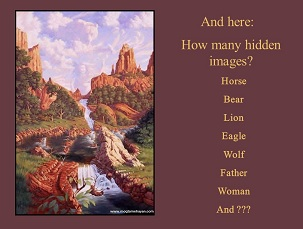 how many hidden images
